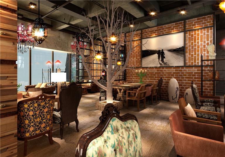 【餐饮空间】漫咖啡_惬意美好时光_装饰建材_华侨路