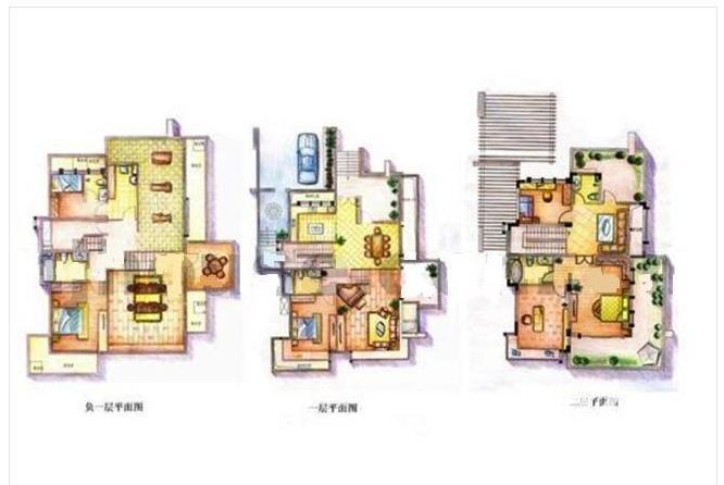 国信自然天成 3层双拼别墅 院子可以扩顶楼可做露台来 来看吧