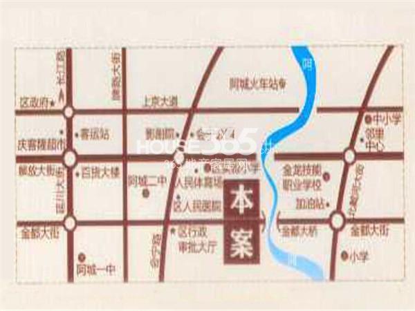 阿城地图高清全图