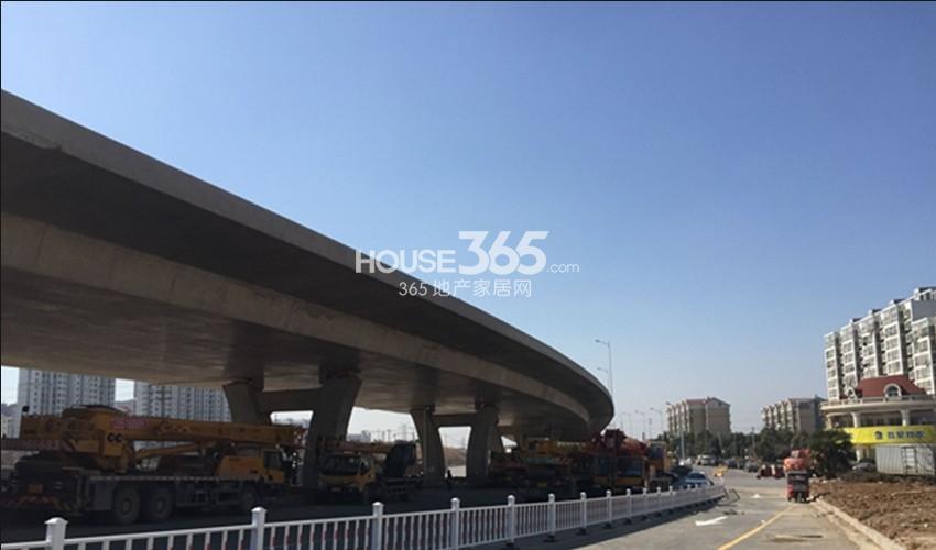 银亿东城到马群的S122路段实景图(2.12)