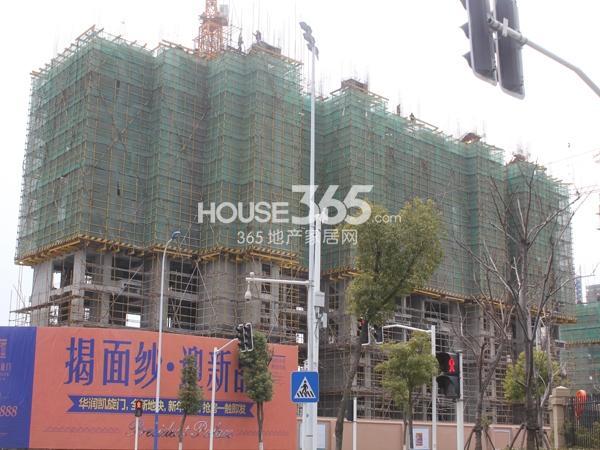 华润国际社区4期房源工程进度图(2015.3)