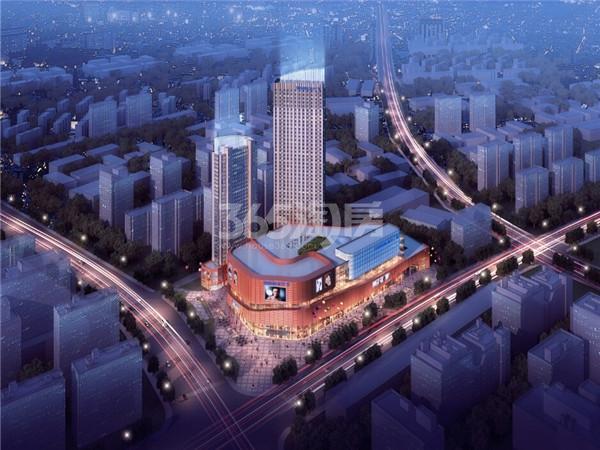 滁州苏宁广场效果图