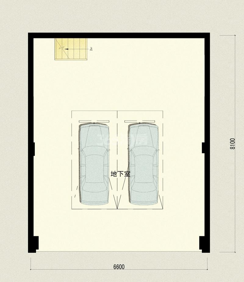 万科坤和玉泉下叠院晓礼院3单元101-地下室