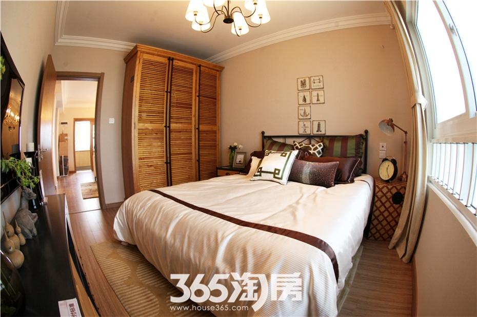 万科海上传奇16#楼A1户型97平样板房—卧室