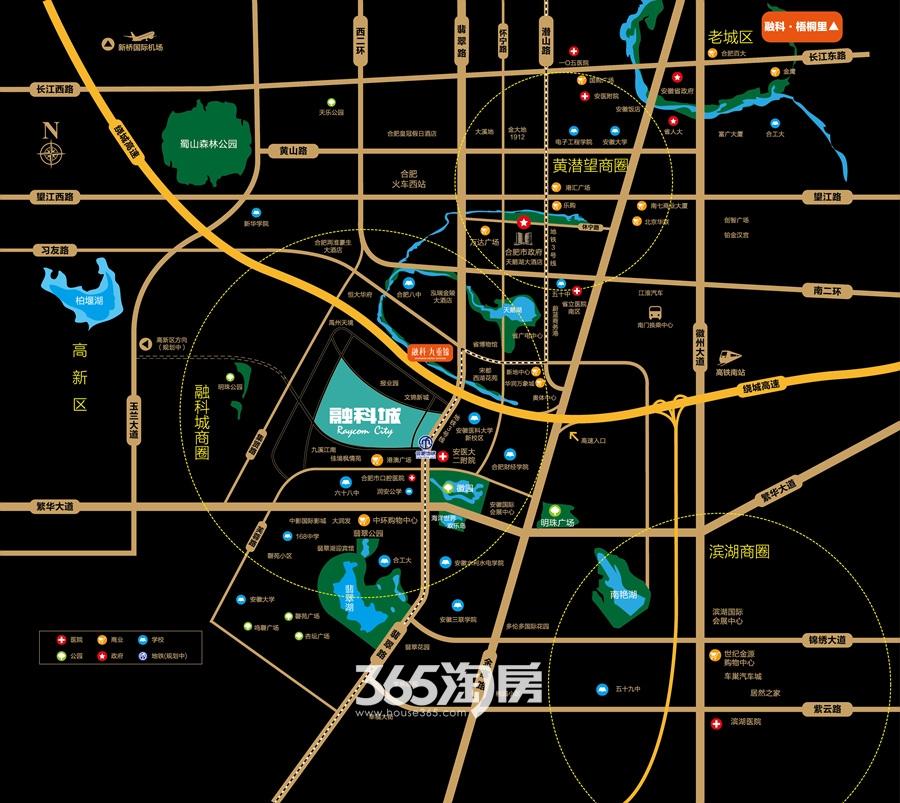 融科城交通图
