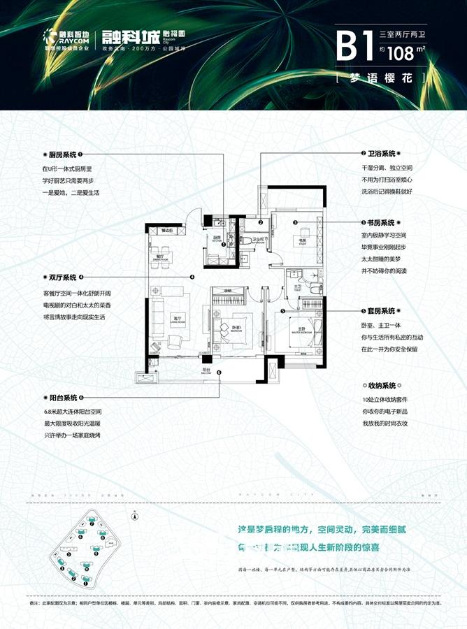 融科城三期融福园B1户型