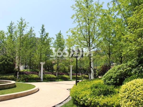 中央城学府金座配套婚礼主题公园实景图