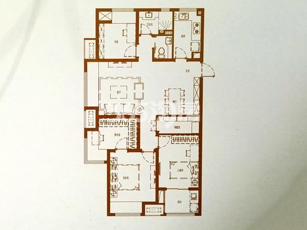 C-1户型三室二厅一卫