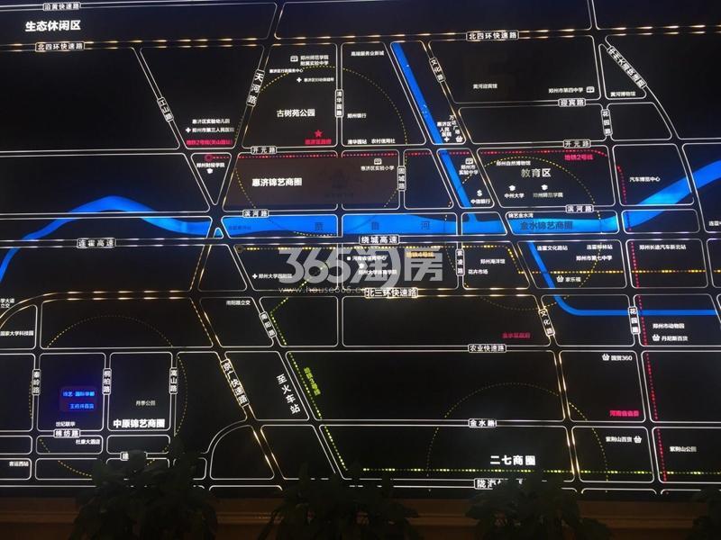 锦艺四季城交通图