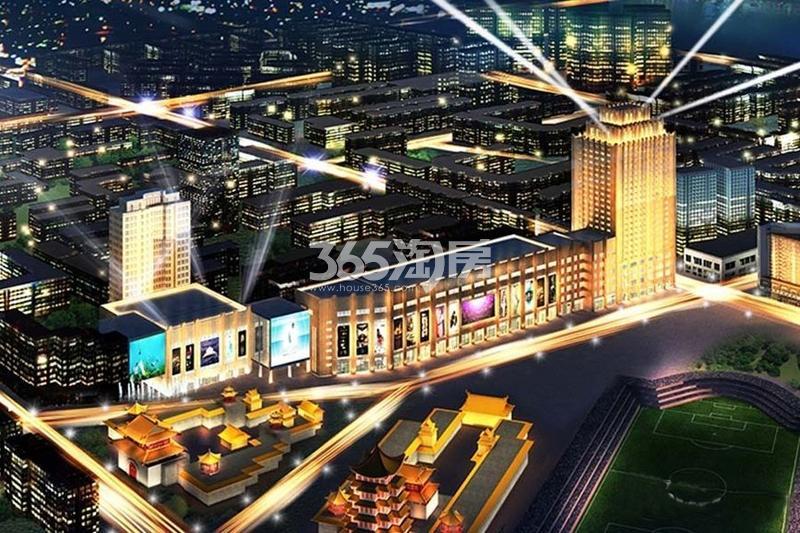 东达华联国际广场效果图
