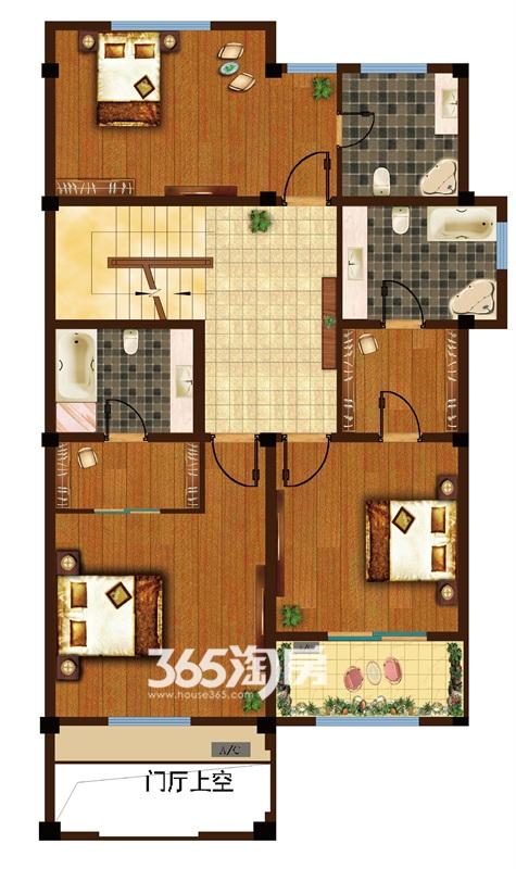 金科半岛1号B5户型(304-305㎡)