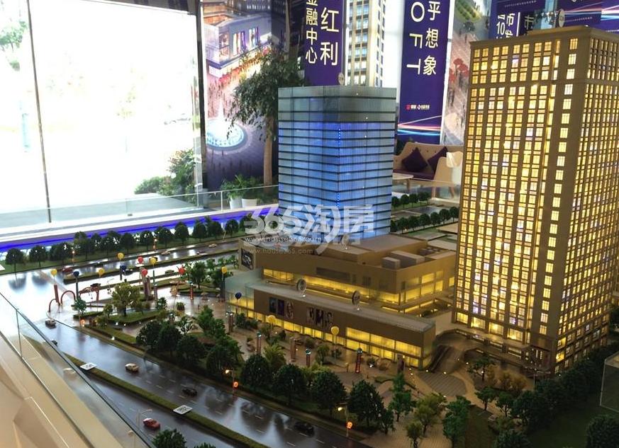 翠屏水晶广场实景图