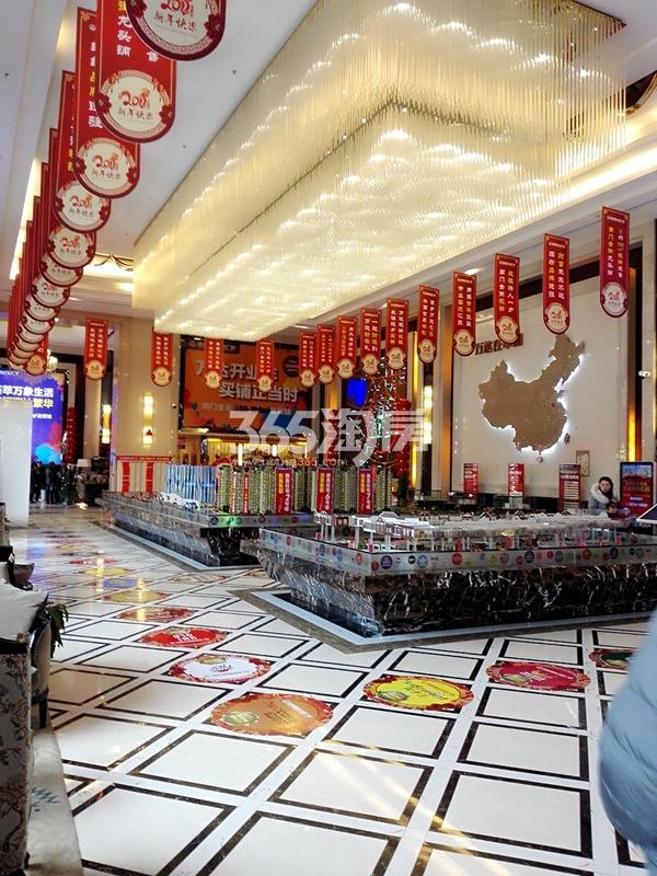 徐州铜山万达广场售楼处实景图(2.03)