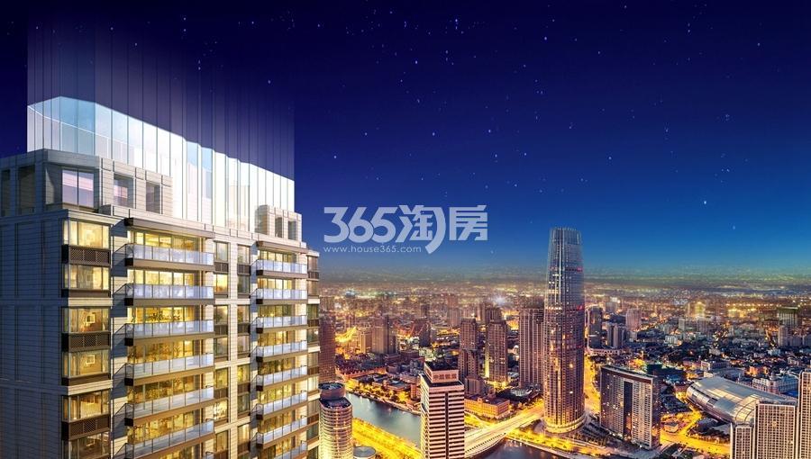 吴越锦源高层顶部效果图