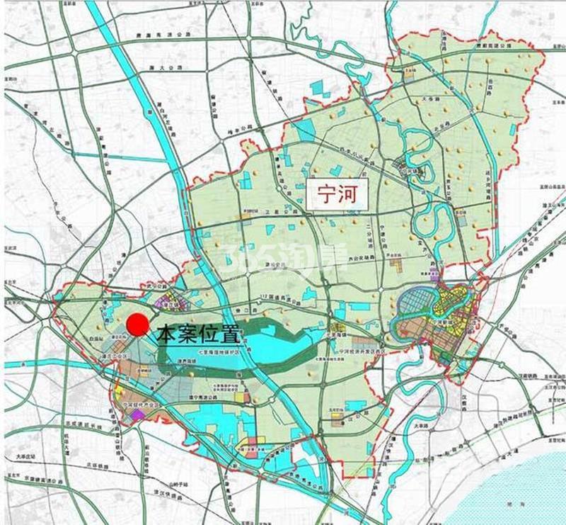七里香格小区交通图