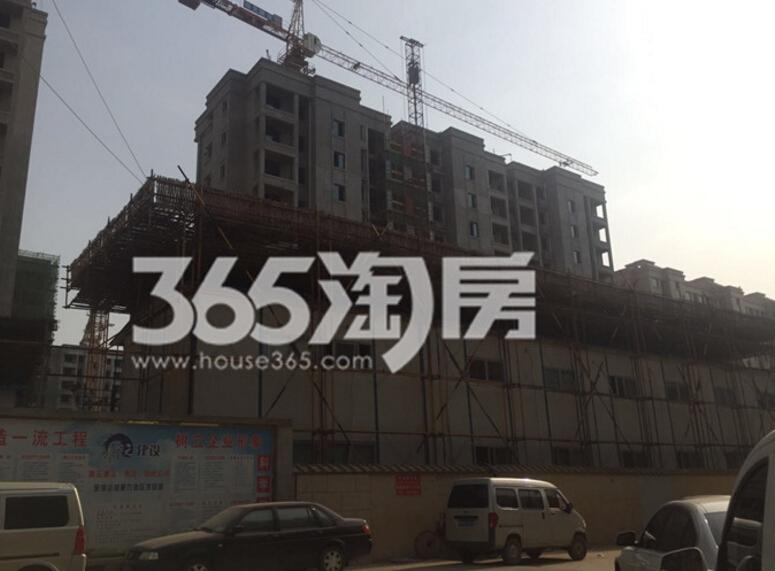银亿东城9街区在建楼栋实景图(4.18)
