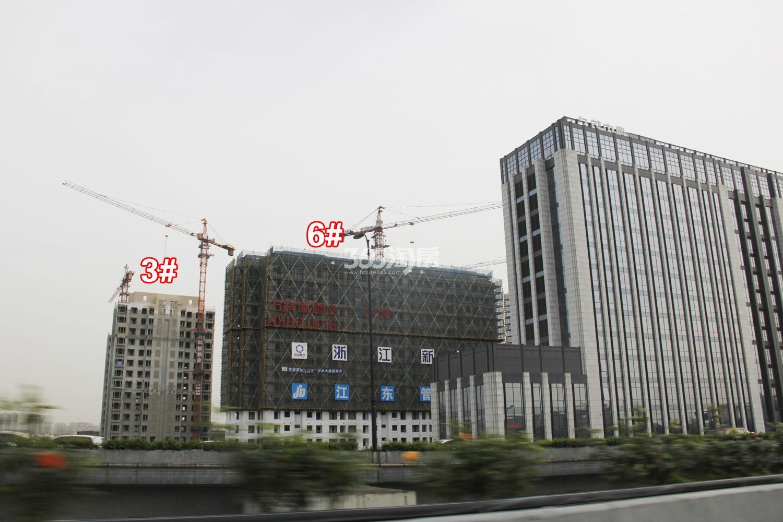 2017年4月万科新都会1958项目实景---3、6号楼