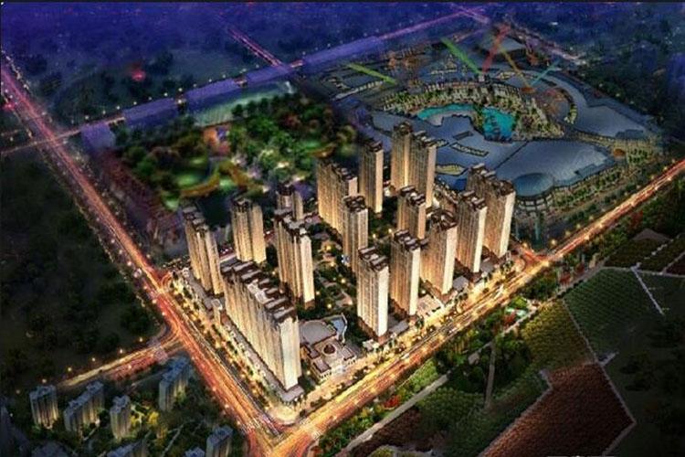 华洲城鸟瞰图