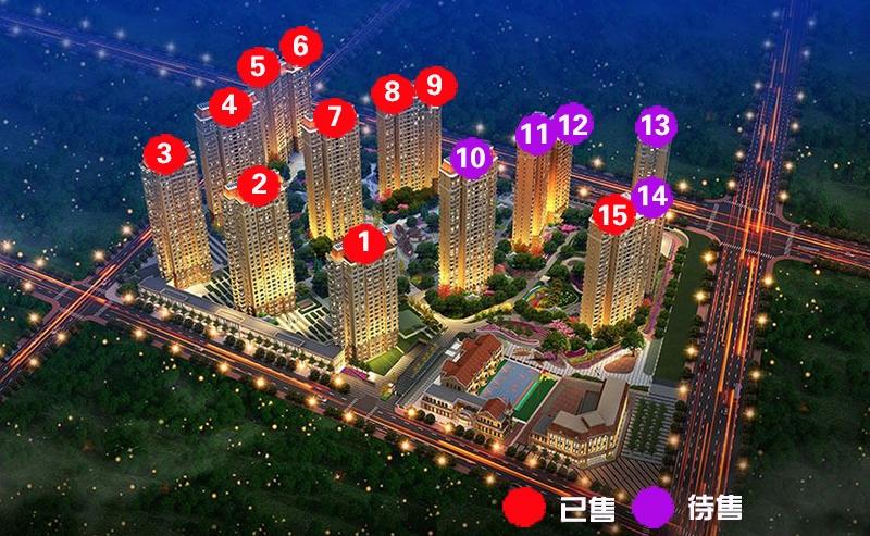 新梅江锦秀里鸟瞰图