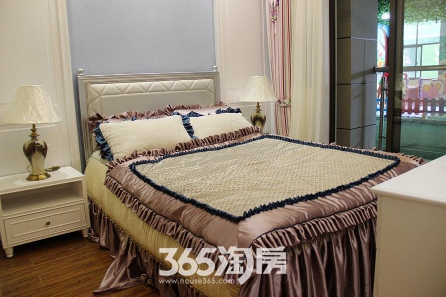 翰林公馆128平样板间—卧室
