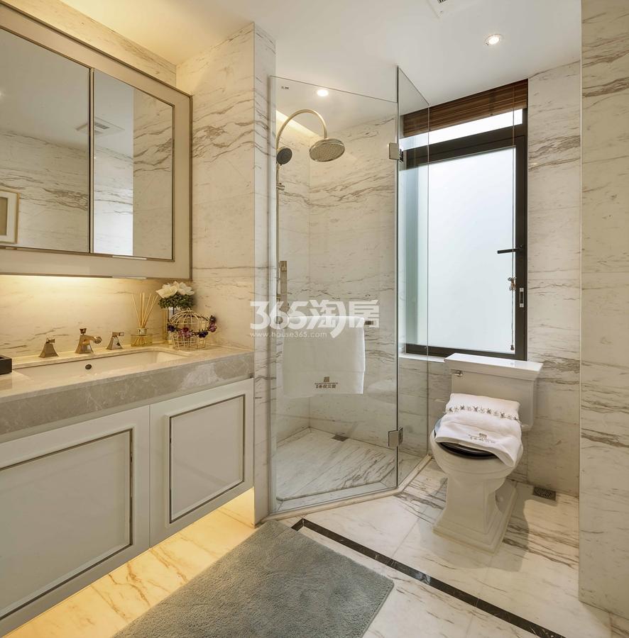 新城香悦公馆P2户型图180方样板房——卫生间