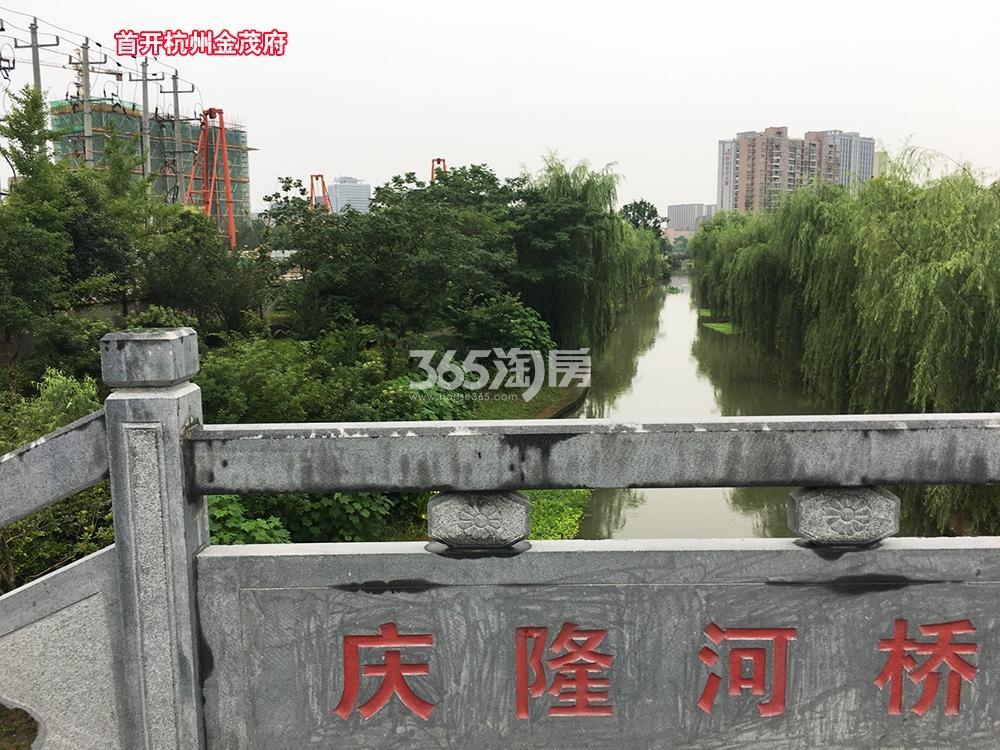 2017.6.25首开杭州金茂府局部实景及周边