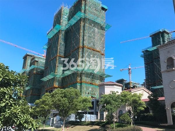 长泰国际社区B区高层实景图(2017.7 摄)