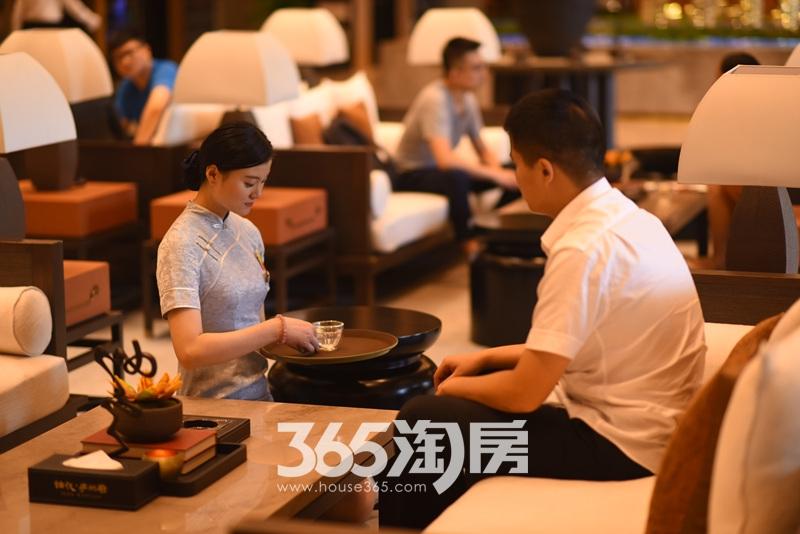 旭辉铂悦庐州府售楼部内部实景图(2017.8.1)