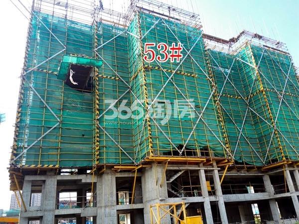 绿地工润和平壹号四期53#工地实景图(8.16)