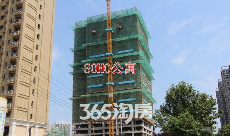 金科海昱东方SOHO公寓工程进度图(2017.9.4)