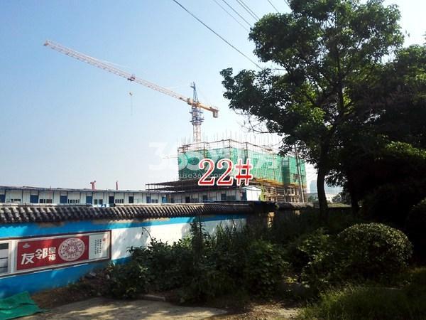 城置四期万锦城22#工地实景图(9.12)