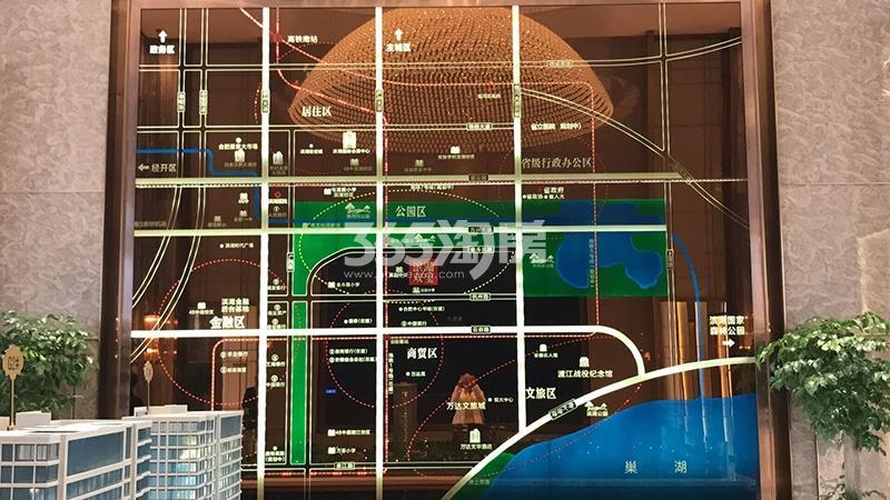 滨湖双玺售楼部区位实景图(9.29)