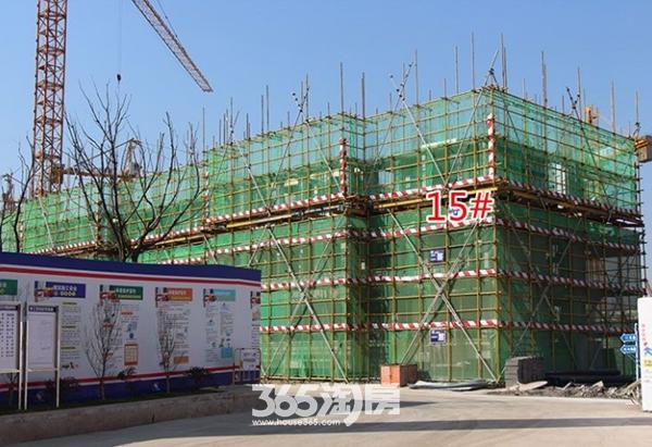 西子曼城15#楼工程进度(2017.12.25)