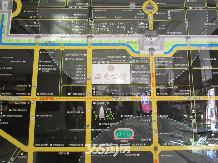 西安公馆区位图